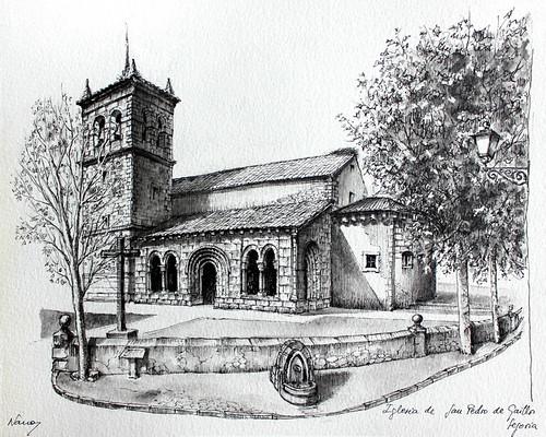 Iglesia de San Pedro de Gaillos. Segovia