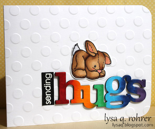 Sending (bunny) hugs