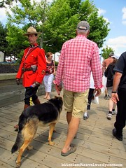 Tall Ships 2012 rcmp mounties red serge