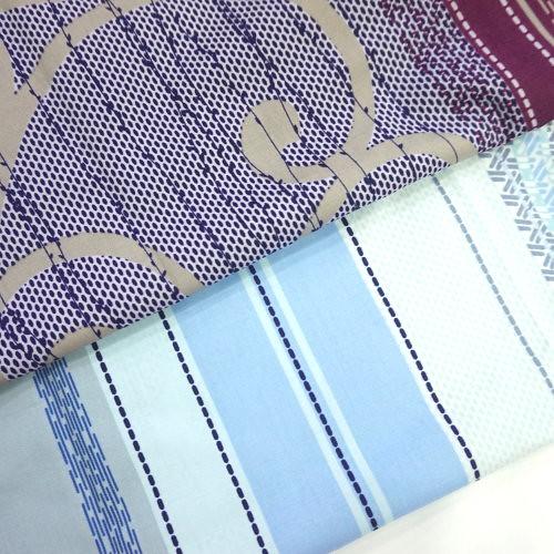 歐式莊園 精梳棉床品床單布料 CA490330