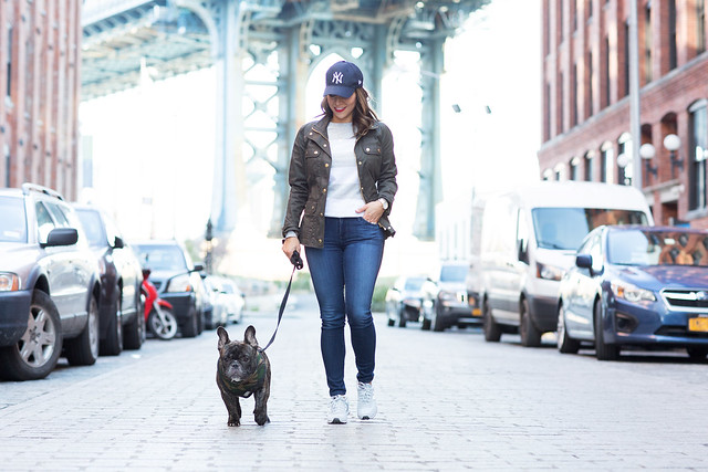 Casual Weekend New York City Dumbo Jcrew Spring New Balance AG Denim