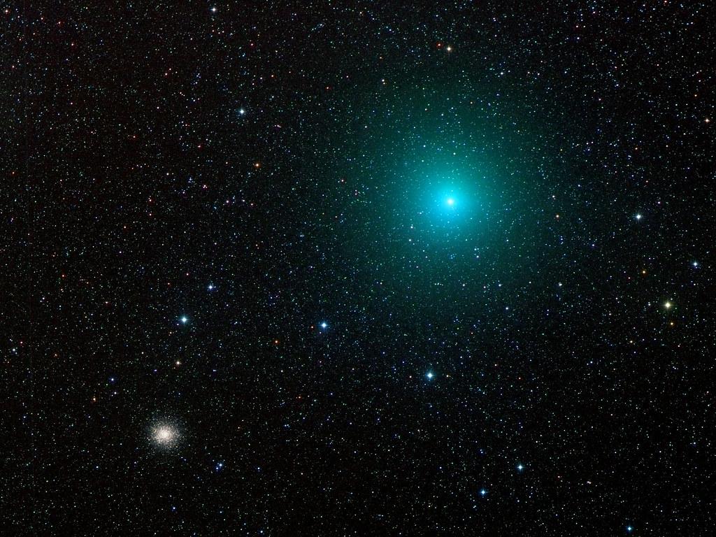 Comet 252P/LINEAR + M14
