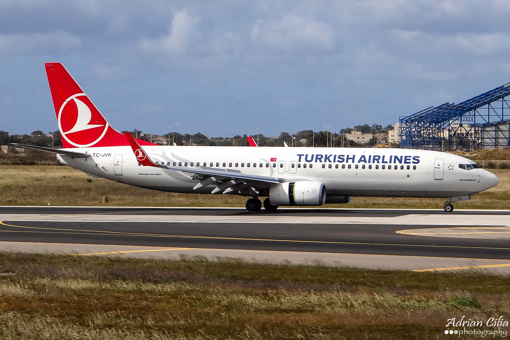 TC-JVK - B738 - Turkish Airlines