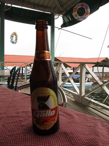 Lívingston: la Gallo, une autre bière guatémaltèque