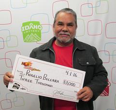 Rogelio Becerra - $3,000 Hot Lotto Sizzler