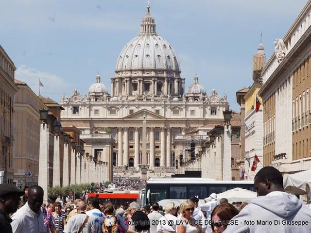 pellegrinaggio con san filippo a roma