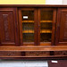 Dutch oak large 4 door sideboard