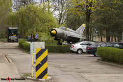 1811 - 961811 - Polish Air Force - Mikoyan-Gurevich MiG-21M - Dabrowa Gornicza, Poland - 160420 - Steven Gray - IMG_0940