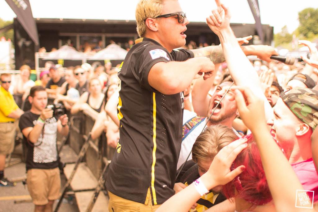 Warped Tour 2014, Mansfield MA // Shots by Matthew Howard