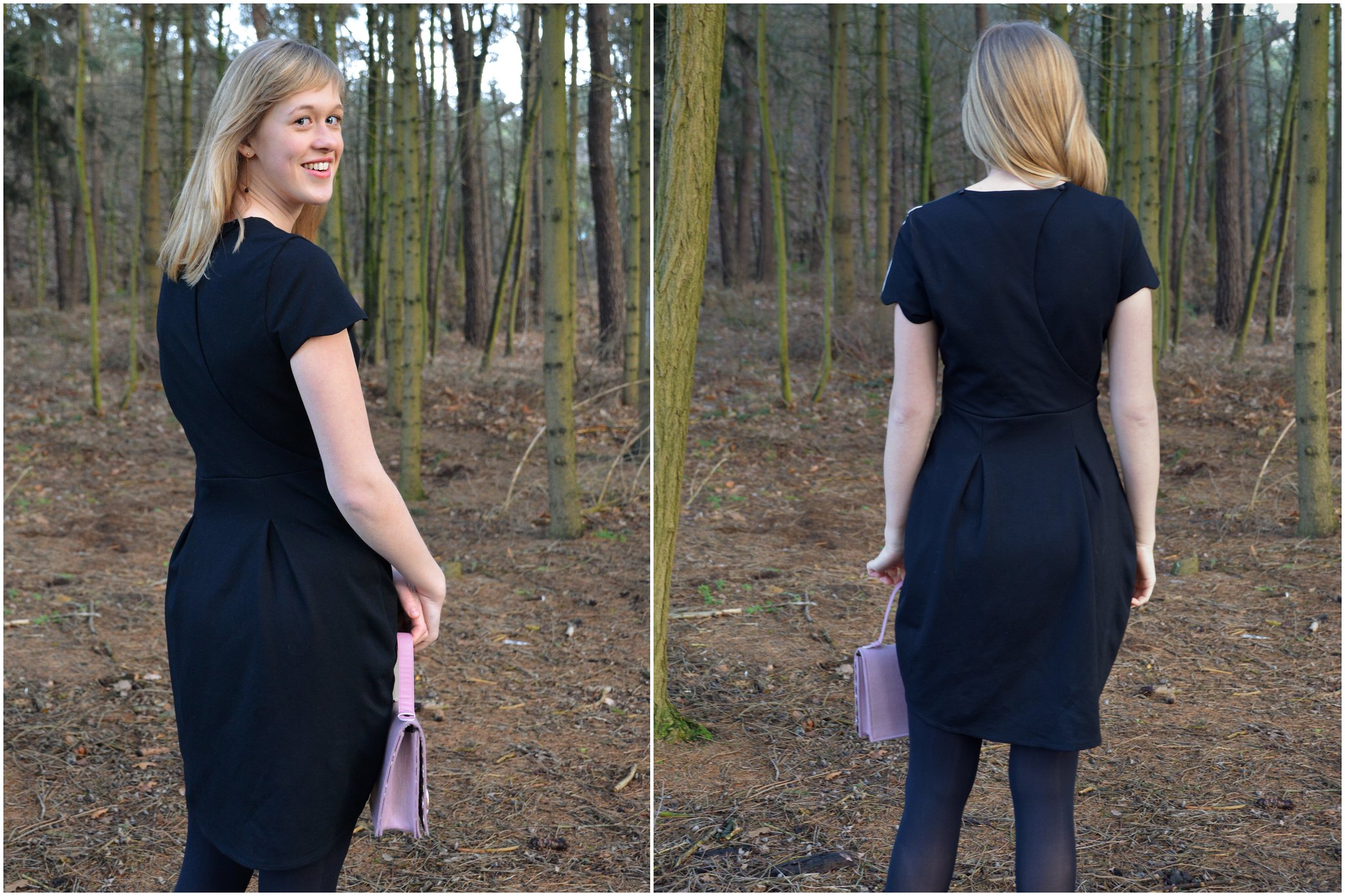 New Year Dress: back