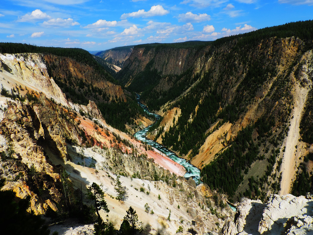Grand Canyon of the Yellowstone, USA