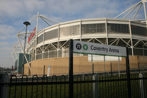 New: Coventry Arena Station