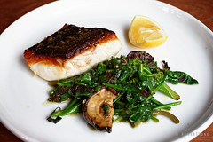 20160104-06-Blue eye trevalla with Asian greens, o…