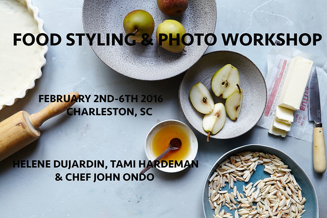 FoodStyling & Photo Workshop Feb 2-6th 2016