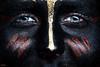 Black Face Bodypaint