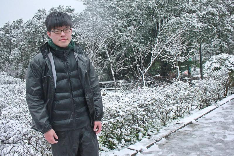 2016-台北陽明山-瑞雪-難得一見的雪白山景-17度C隨拍 (31)