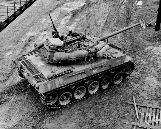 A beautiful top shot of an M18 Hellcat