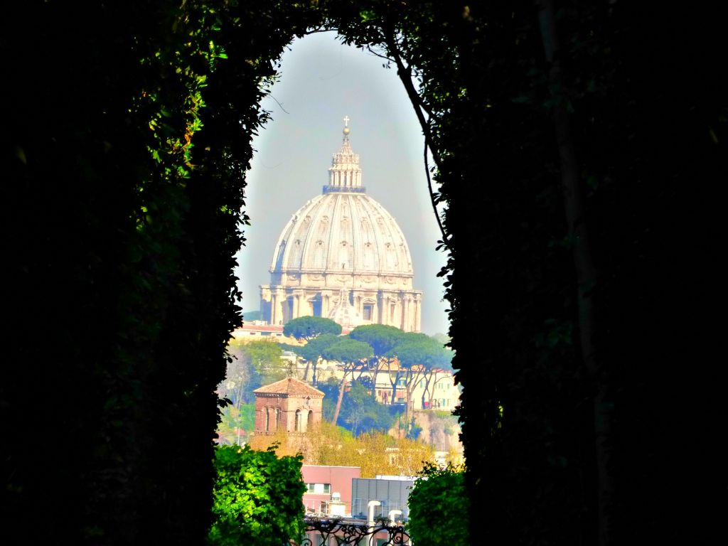 St. Peter's Basilica through the keyhole