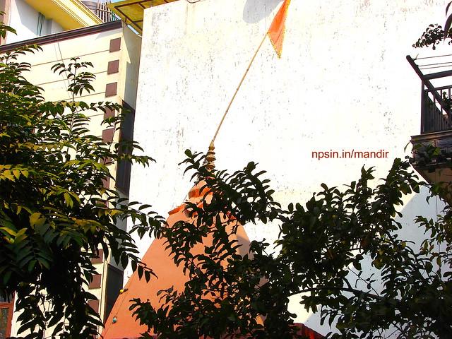 Main Shikhar with Flag