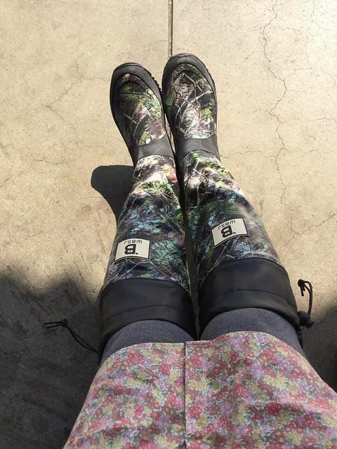 曰本野鳥の會長雨靴