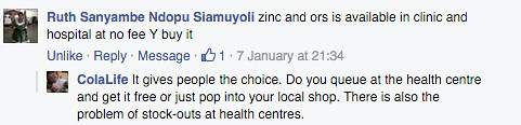 Comment on Kit Yamoyo from Facebook