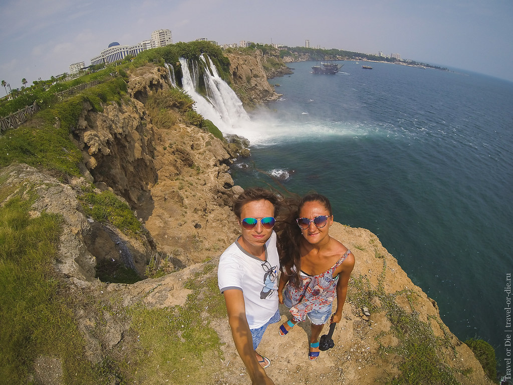 Duden Waterfall selfie