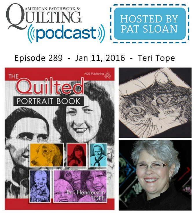 American Patchwork Quilting Pocast episode 289 Teri Tope