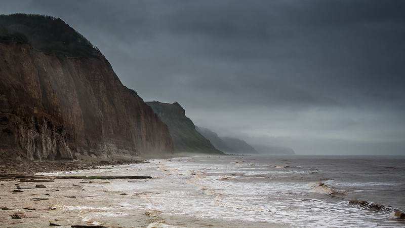The Red Cliffs at Sidmouth