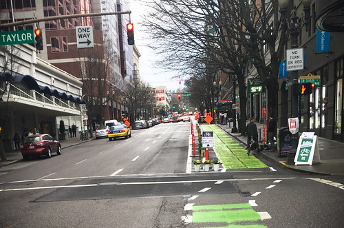 Pop-up bikeway on SW Broadway-8.jpg