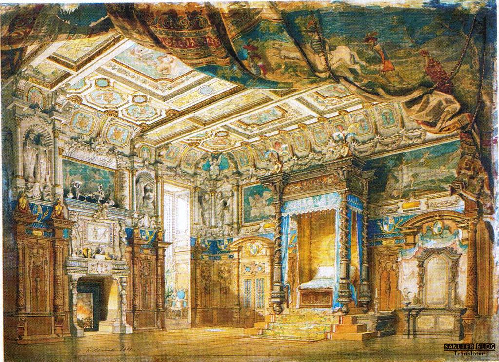 19世纪芭蕾剧舞台设计06