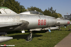 806 - 7806 - Polish Air Force - Sukhoi SU-7 BKL - Polish Aviation Musuem - Krakow, Poland - 151010 - Steven Gray - IMG_0323