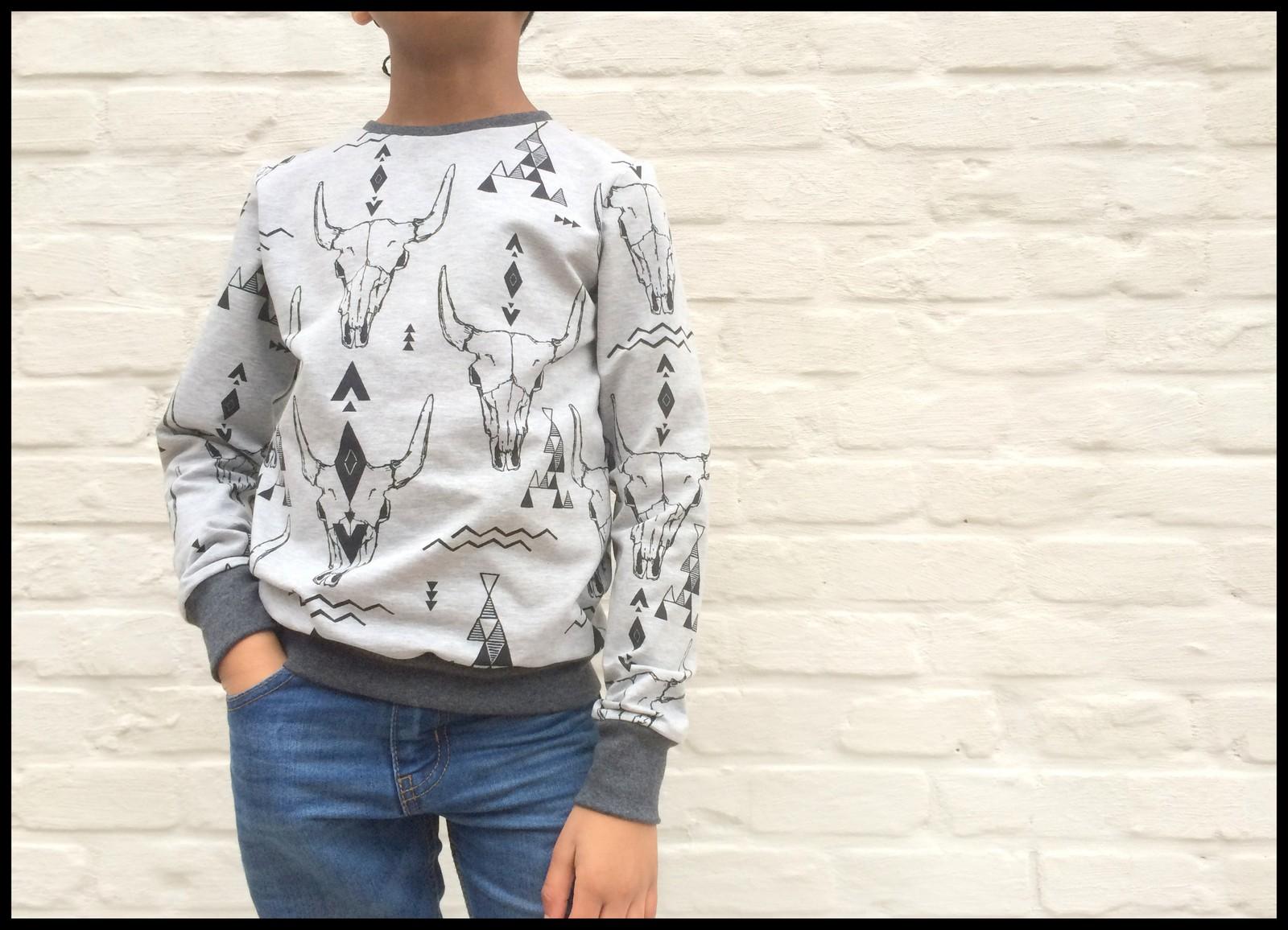 skulls sweater