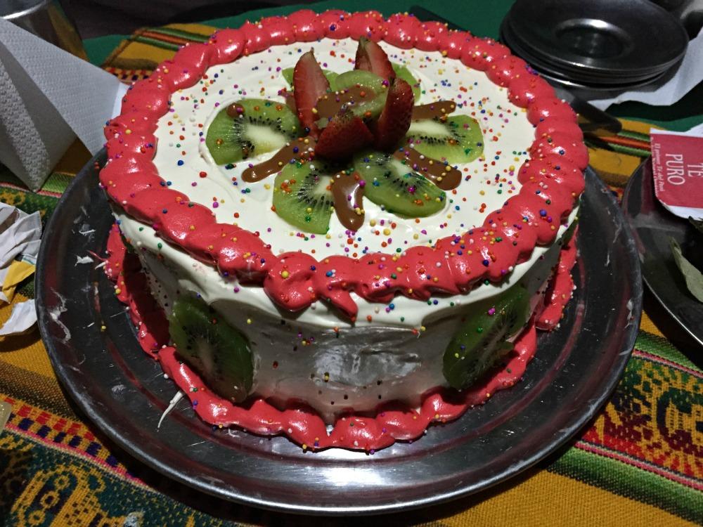 Inca Trail Cake