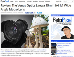 Review: The Venus Optics Laowa 15mm f/4 1:1 Wide Angle Macro Lens