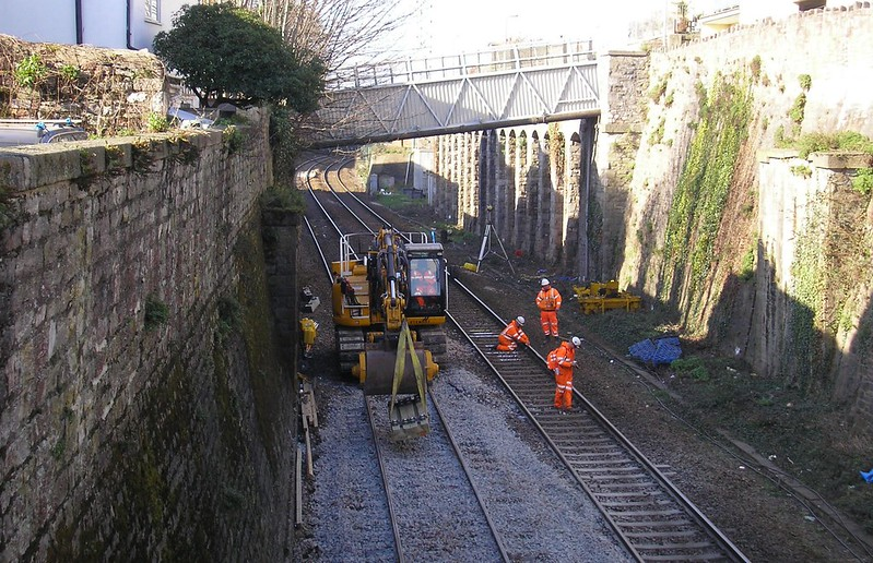 Tamping With Railtrack