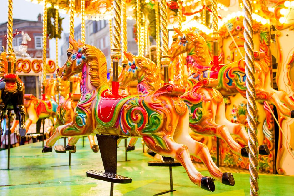 horse carousel birmingham christmas markets
