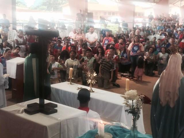 Rebanhão 2016 Missa por cura e libertação