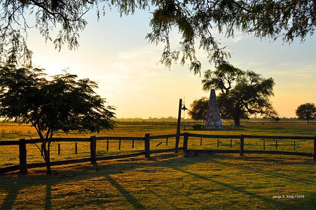 Monumento en Rancho Quemado