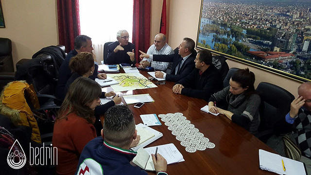 Meeting with Prefecture and Municipality of Scutari