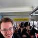 Matt Johnson on the 1st public streetcar by BeyondDC