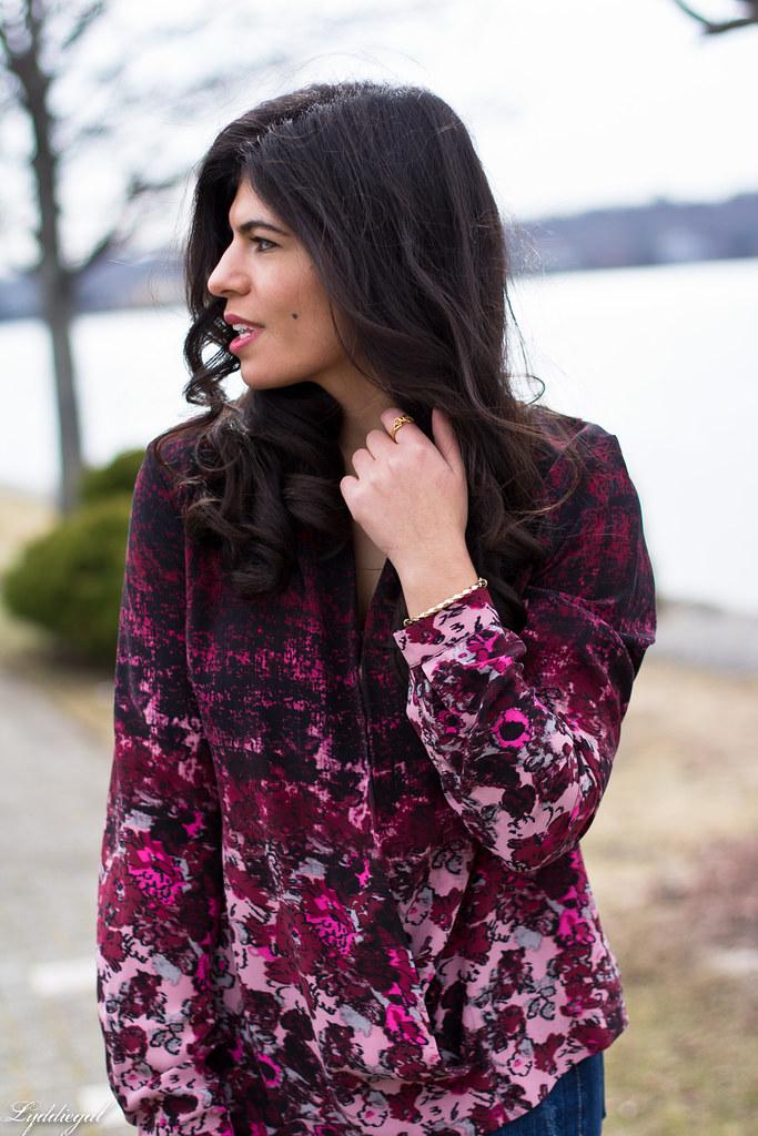 floral wrap blouse, denim, black boots, coach bag-7.jpg