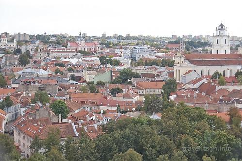 【写真】2015 東欧周遊 : ビルニュス・旧市街(夕)/2020-10-17/PICT3549