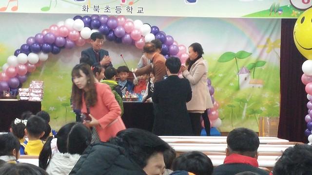 화북초등학교 입학식-웅성웅성 쫑끗쫑끗