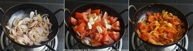 How to make Kadai Vegetable - Step1