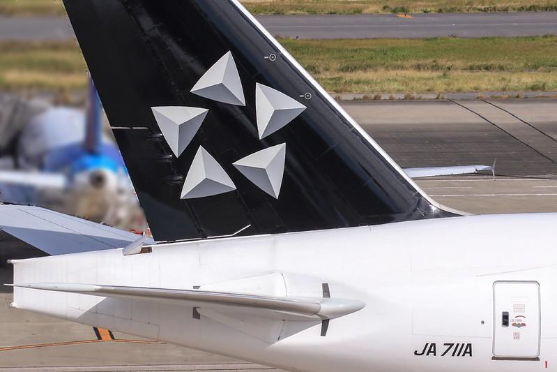 JA711A ANA スタアラ塗装機 Boeing 777-200