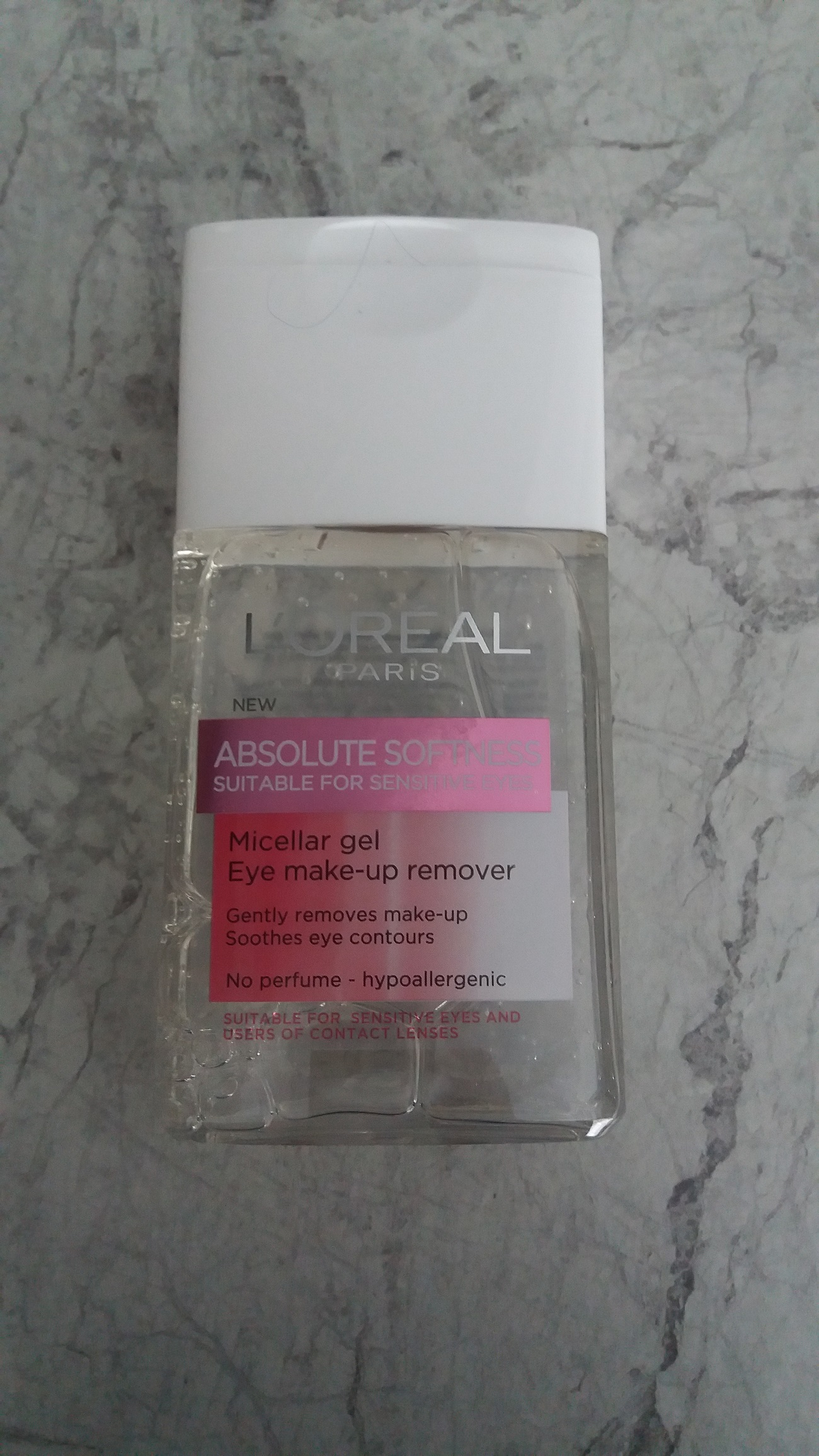 L'Oréal Paris Absolute Softness Micellar Gel Eye make-up remover