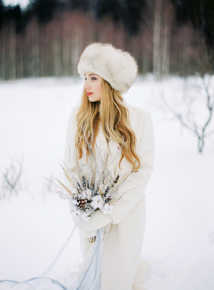 Narnia Inspired Winter Wedding Inspiration , winter wedding | Yaroslav and Jenny Photography | Read more on fabmood.com