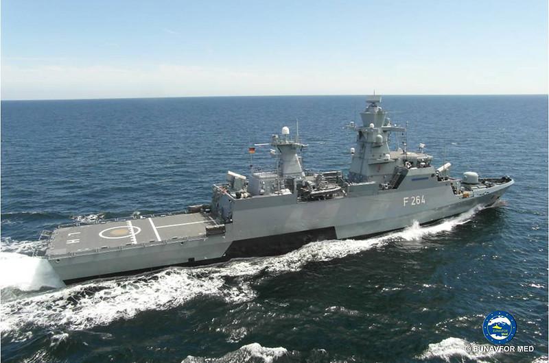 Rotation among German Naval assets – Op Sophia EUNAVFOR MED