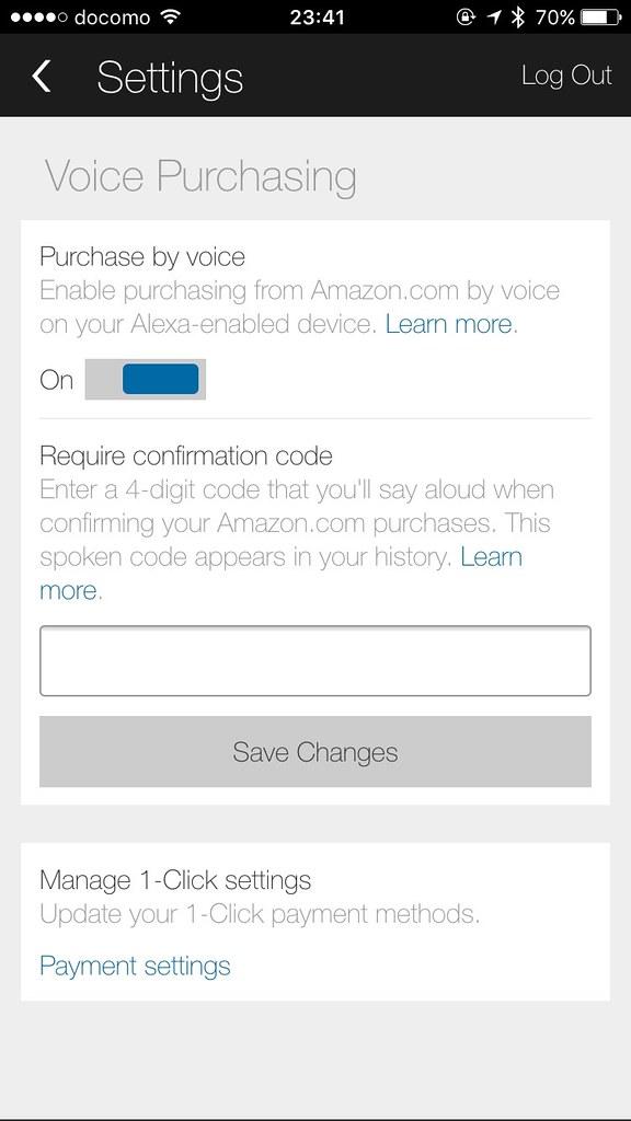 Voice Purchasing on Alexa