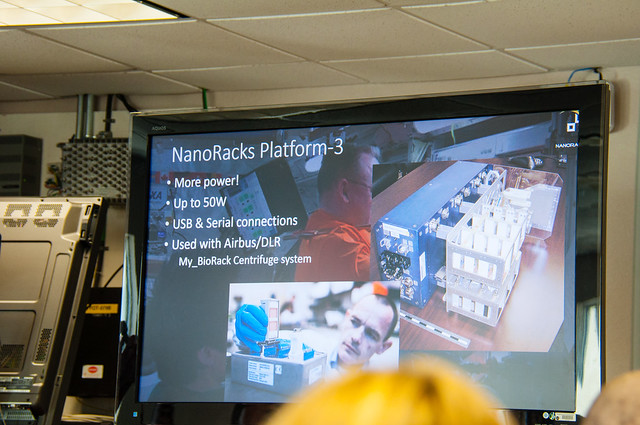 NanoRacks v3 modular experiment system